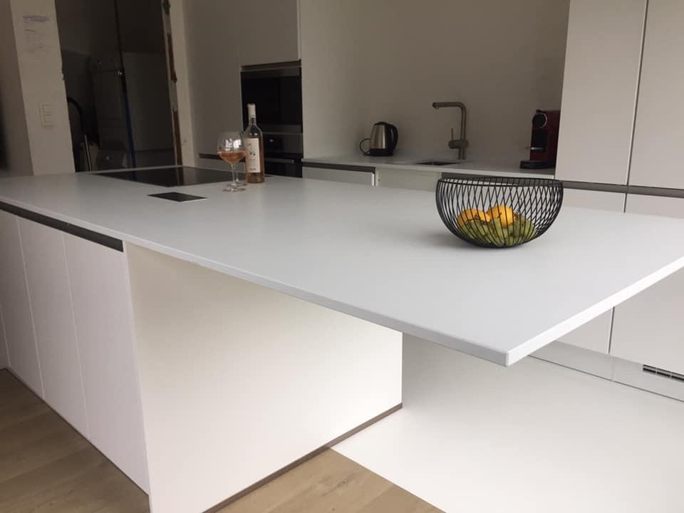 natuursteenraisa witte keuken | Natuursteen Raisa